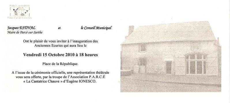 Modele Carton Invitation Inauguration Document Online